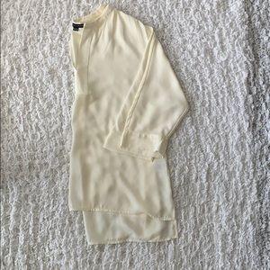 HARLOWE & GRAHAM 3/4 sleeve blouse